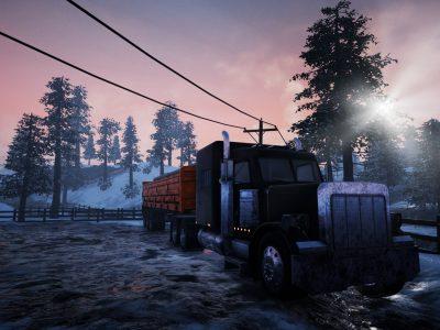 Es entsteht ein PC-Spiel, in dem ein LKW-Fahrer ums Überleben kämpfen wird