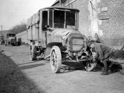 History of transport – part 15. How cars changed the face of World War I