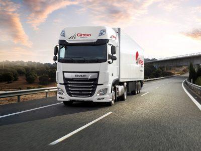 Girteka hace grandes compras con DAF. La empresa ordenó camiones con cabinas de lujo