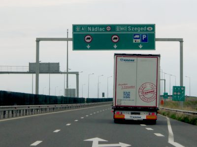Hungarians launch automatic fines for overloaded trucks thanks to a new feature of the TSM system