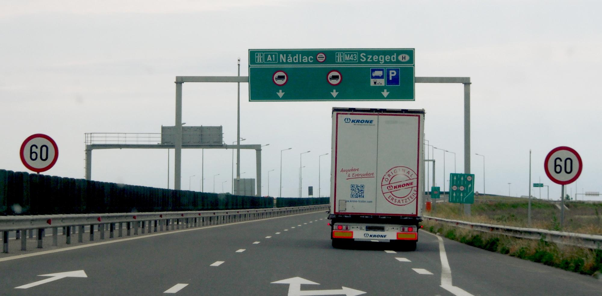 Automatische Geldstrafen für überladene LKW. Ungarn launcht neues System