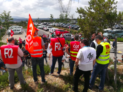 Update: French trade unions cancelled the strike promised for today