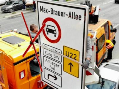 Desde el jueves pasado, la violación de la prohibición de los motores diésel en Hamburgo es castigada con multas
