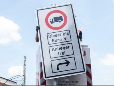 Berlinben is korlátozzák a dízellel hajtott járművek forgalmát.