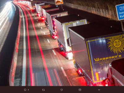 Paquete Anti-Tránsito. Algunos camiones no podrán pasar por el Tirol