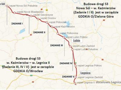 TransINSTANT: Trasa S3 Legnica – Lubin oddana kierowcom | Przewozy ładunków ze wzrostem w maju