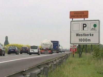 Parcarea de pe ruta către Calais va fi închisă în luna august