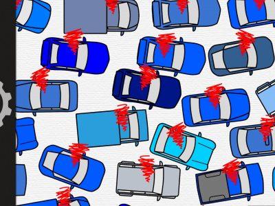 Paprastas paaiškinimas, kaip atsiranda eismo spūstys