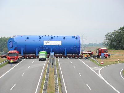 EU Commissioner to ask Germans about controversial requirements for oversized transports.
