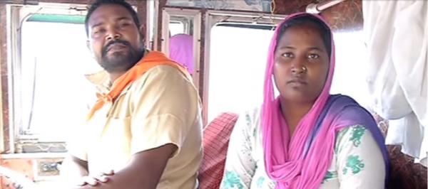 Hinduska nauczyła się jeździć ciężarówką, by więcej czasu spędzać z mężem