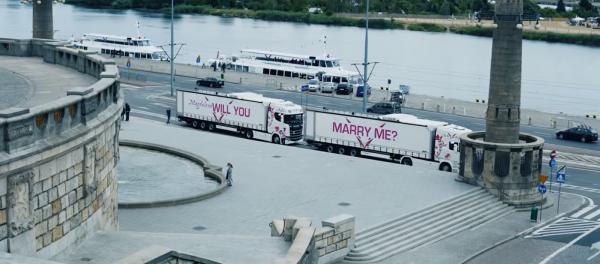 Ein ungewöhnlicher Heiratsantrag