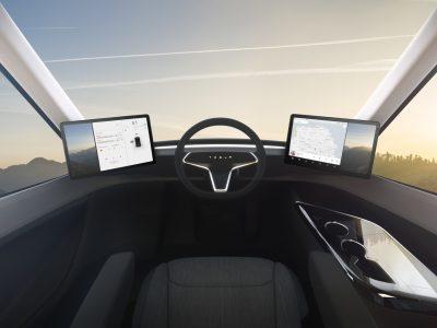 Kiábrándító a Tesla Semi Truck belseje. Nézze meg a saját szemével!