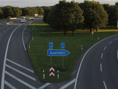 Section of the German highway completely closed during the holidays