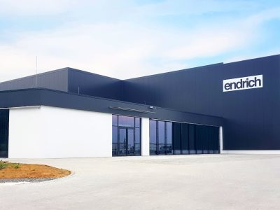Endrich eröffnet neues Logistikzentrum in Nagold