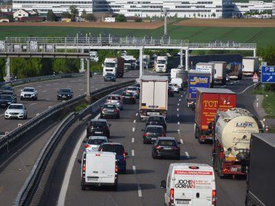 Behinderungen auf der A 13 Brenner Autobahn