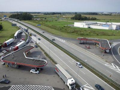 TransINSTANT: Koniec remontu węzła na A4 | Nowy magazyn Rohlig Suus Logistic w Szczecinie