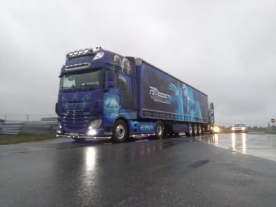 DAF X-Men gewinnt den Wettbewerb für den schönsten Truck