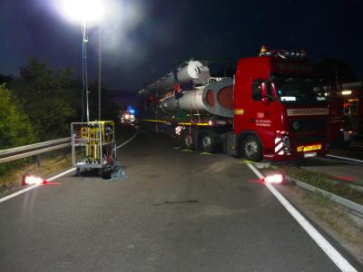 Negabaritinio transporto palydą teikia privačios įmonės. Vokietijos žemės apibendrina tyrimų rezultatus