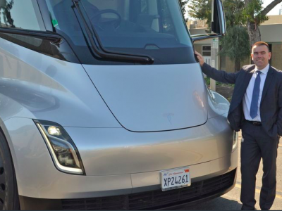 Waberer's first in Europe to test Tesla Semi
