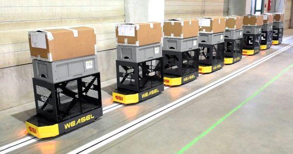 Logistyka 4.0 w praktyce. Jakie zalety ma system transportowy Weasel?