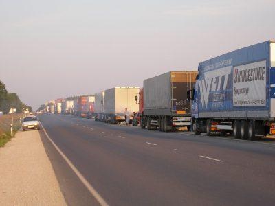 Prohibiciones de tráfico de camiones en Europa relacionadas con el día festivo del 15 de agosto