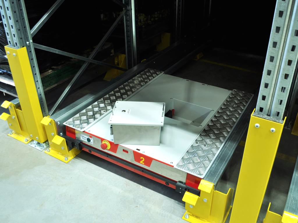 Logistics 4.0 in practice. With Pallet Shuttle storage system, you need only one forklift