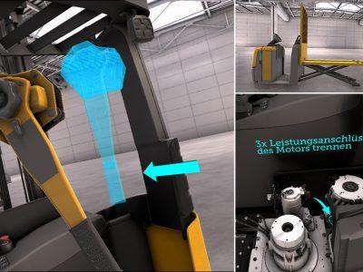 Gesamte Fahrzeugflotte realitätsnah als 3D-Modell darstellbar