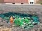 Autofahrer rettet schönstes Schlagloch in Deutschland