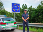 Additional 500 German police officers control the border with Austria