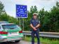 La policía bávara está controlando la frontera con Austria