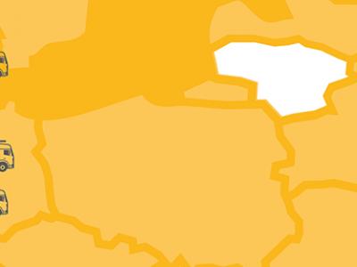 Nauja auganti transporto galia Europoje. Ar lietuviai kelia grėsmę net ir Lenkijai? [infografikas]