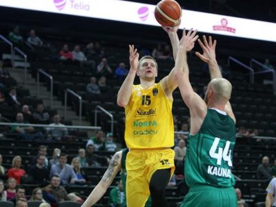 """Vytautas Šarakauskas prisijungė prie """"Baltic transline"""" kolektyvo. Garsus krepšininkas nusprendė skinti laurus transporto sektoriuje"""