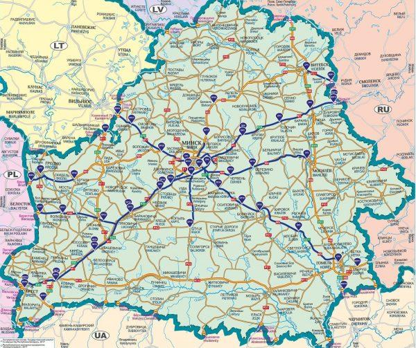 Białorusini odwołują pobór opłat drogowych, ale tylko dla kierowców z zagranicy
