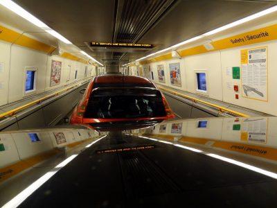 Eurotunnel: trafic record în luna iulie