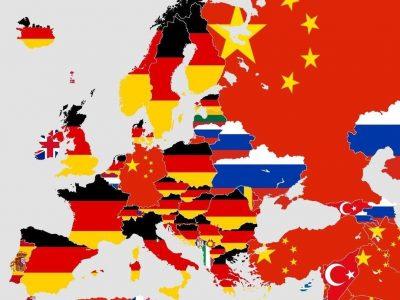 Žvilgsnis į šį žemėlapį nepalieka jokių abejonių. Absoliutus ekonominis Vokietijos dominavimas Europoje