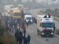 A menekültek újra akcióban. Caenben és Ouistreham kikötőjében egyre rosszabb a helyzet.