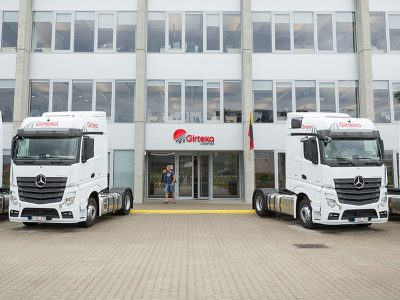 Will Girteka change German transport? The carrier announces entry into local market