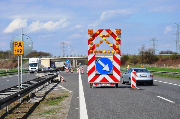 Uwaga kierowcy! Potężny korek na A4 z powodu remontu jezdni