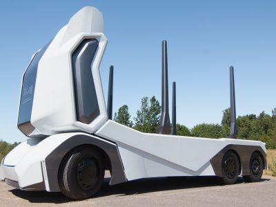 A svédek egy újabb önvezető teherautót mutattak be.A T-log teszi tönkre a hivatásos sofőröknek?
