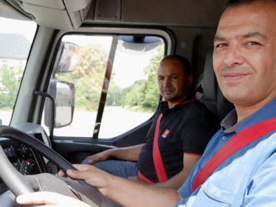 Germania: Primii refugiați au devenit șoferi de camion