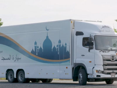 Mosque in a semi-trailer truck? Japan is getting ready for the Summer Olympics in 2020