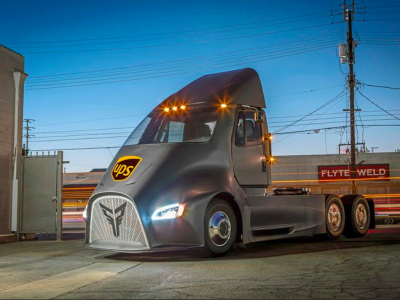 Tesla Semi competitor, Thor ET-One will deliver for UPS