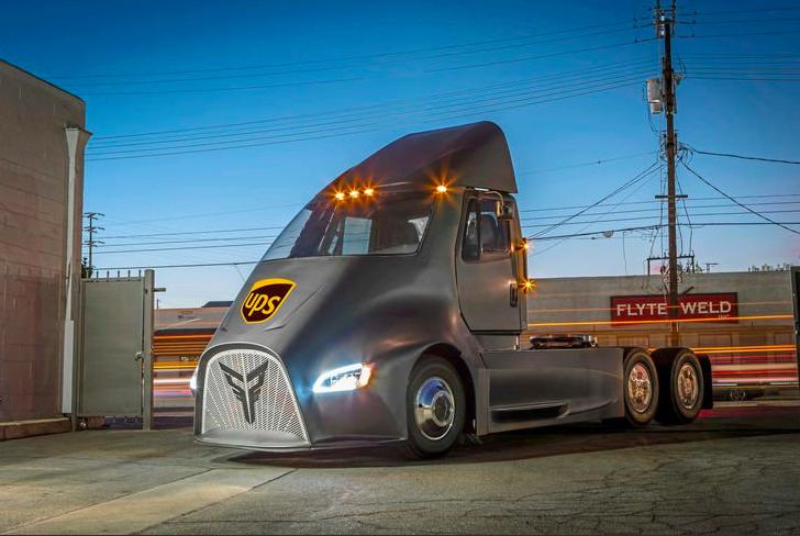 Konkurent Tesli Semi, Thor ET-One będzie jeździł dla UPS