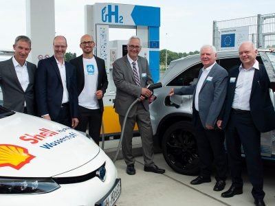 Joint Venture H2 Mobility nimmt weitere H2-Station in Betrieb