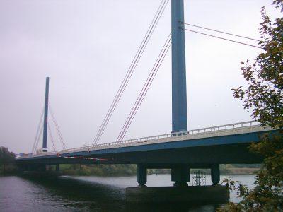 Einschränkungen auf der Norderelbbrücke