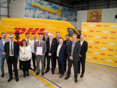 DHL Express erhält 300. TAPA-Zertifizierung