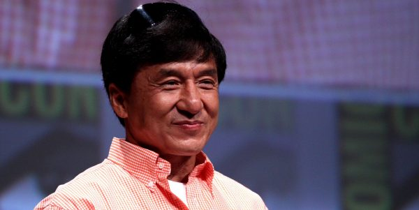 Jackie Chan thanks truck drivers. The Chinese truckers pulled out a film crew from the mudslide