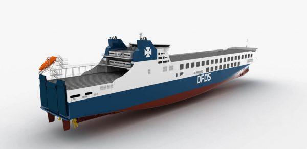 TransINSTANT: Nowy prom dla DFDS zabierze 450 naczep | Przewieźli o 21 proc. ładunków więcej
