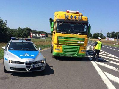 Europejska policja bierze pod lupę ciężarówki i autobusy