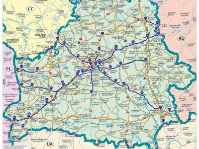 Baltarusiai panaikina kelių rinkliavas, bet tik užsienio vairuotojams